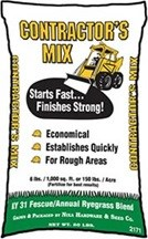 Contractor Mix - Fescue & Rye Grass Seed