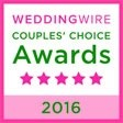 Port City Event Planners Wedding Wire Award 2016