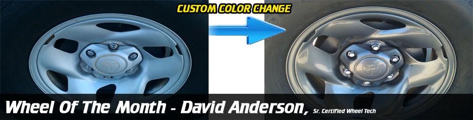 Wheel of the Month, David Anderson, Sr. Certified Wheel Tech