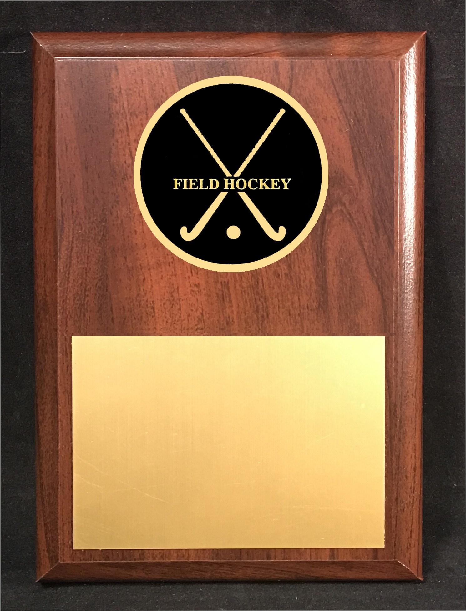 FHM46 Crossed Stick Plaque
