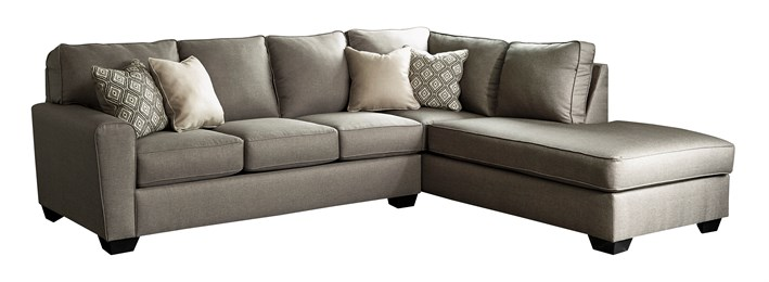 Calicho Upholstered 2PC Sectional Cashmere
