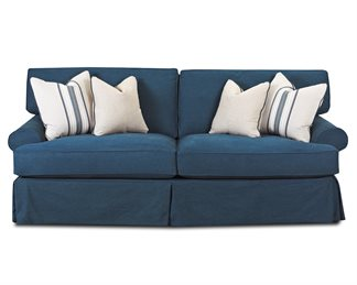 Lahoya Upholstered Slip Cover Sofa