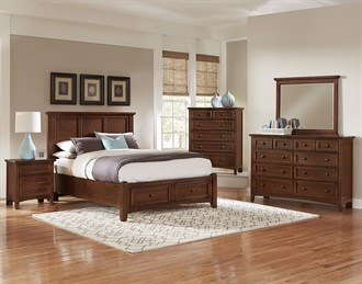 Bonanza Queen Mansion Storage Bed