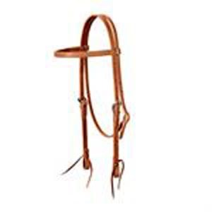 Weaver Harness Leather Browband Headstall