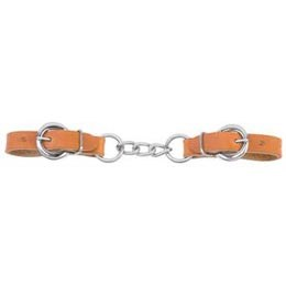 Weaver Curb Chain 3.5 in. Brown/Chestnut/London
