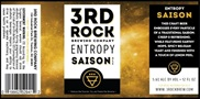 3rd Rock Entropy Saison