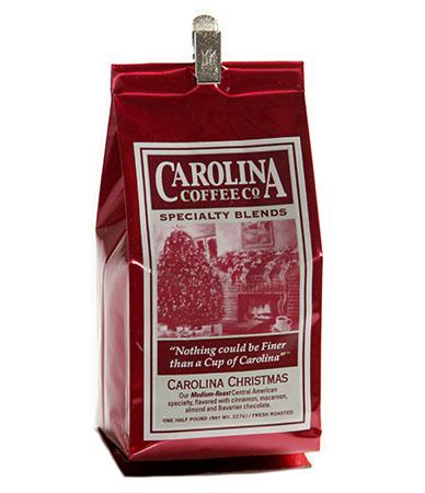 Carolina Coffee Carolina Christmas Blend Swiss Water Decaf