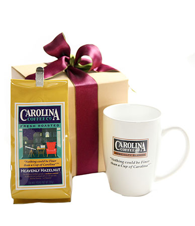 Carolina Coffee Coffee With Porcelain Logo Mug