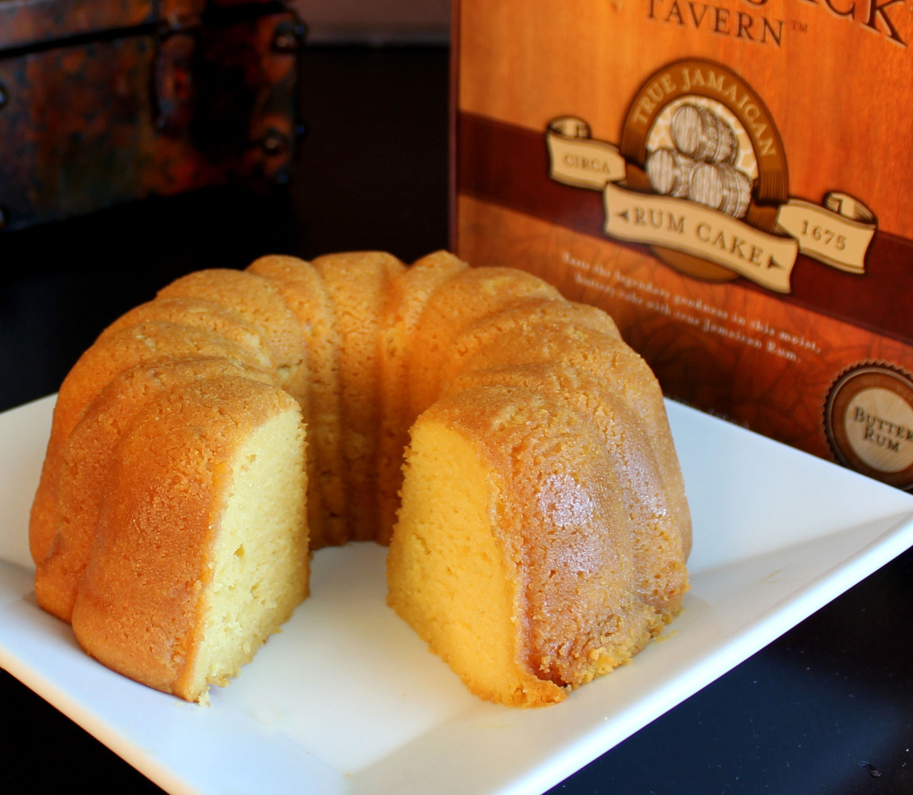 Carolina Coffee Wicked Jack's Tavern™ Butter Rum Cake