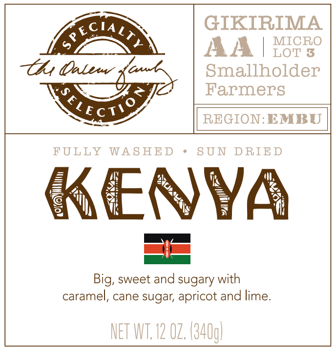 Carolina Coffee Kenyan Gikirima AA