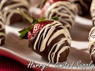 Chocolate Covered Strawberries 1 Dozen*