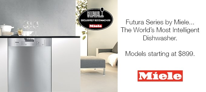 Miele Futura Series Dishwashers, starting at $899