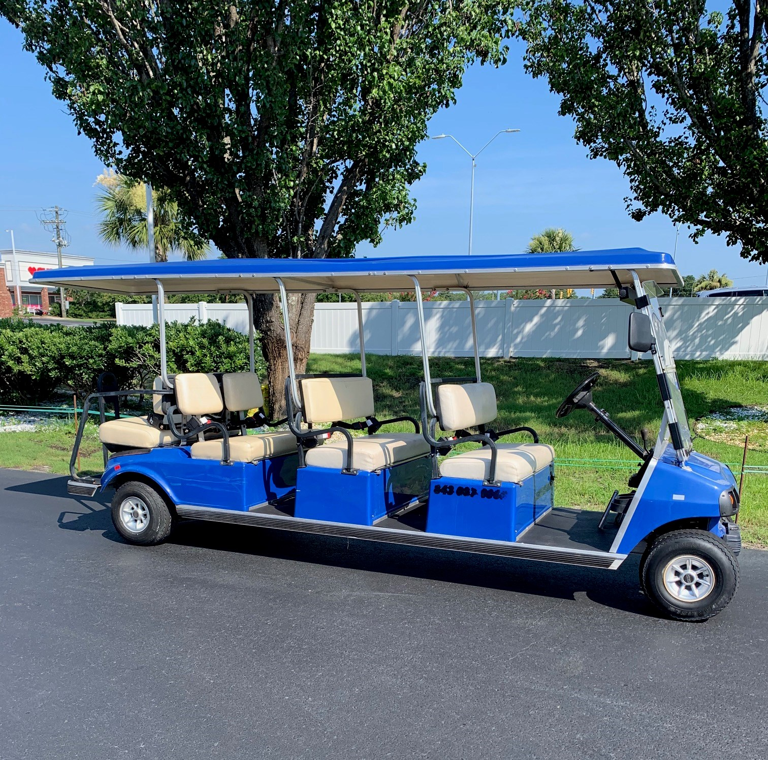 2009 Club Car DS Gas Cart 8PR
