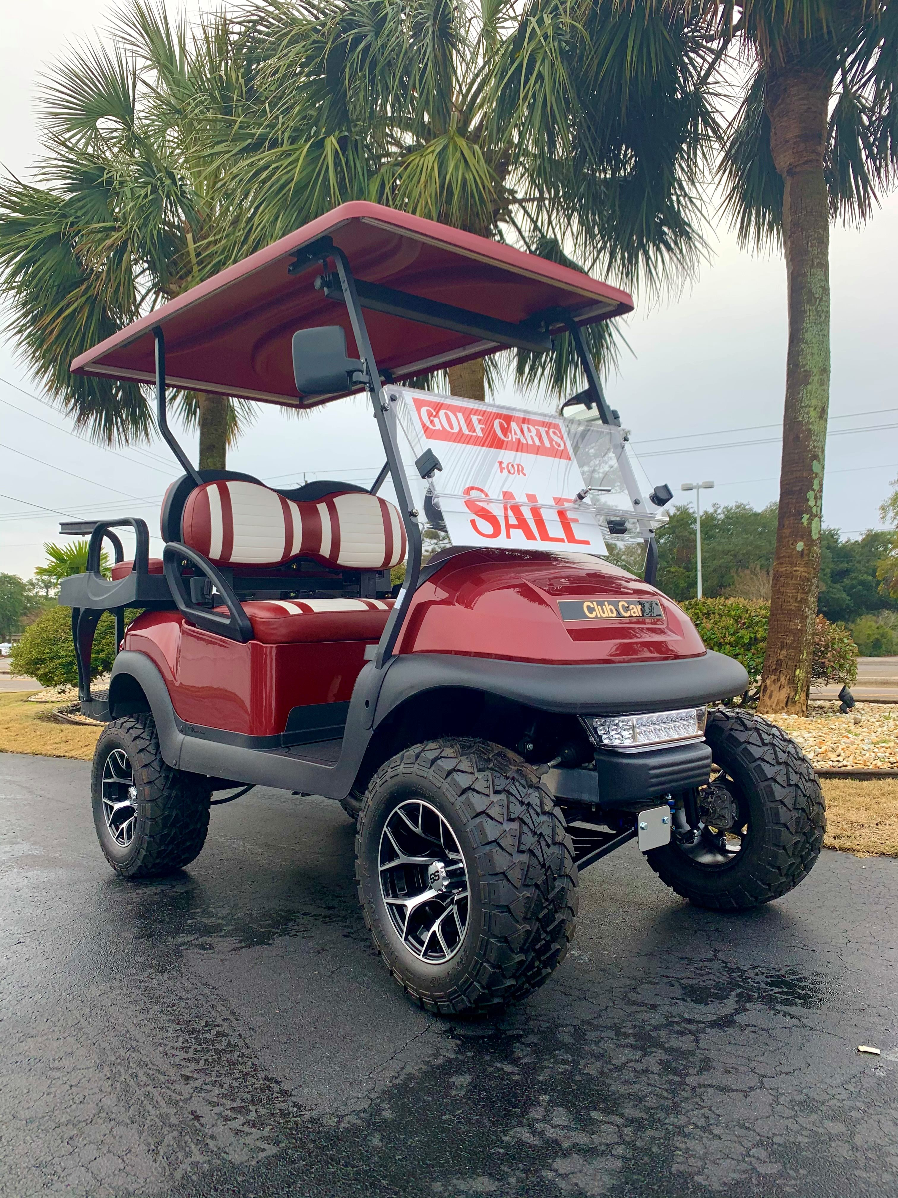 2021 Club Car Precedent 4 Passenger LIFTED WITH FREE AGM BATTERIES