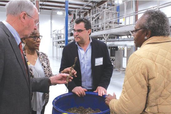 March 13: Hemp oil producer opens: Criticality hosts tour for local officials