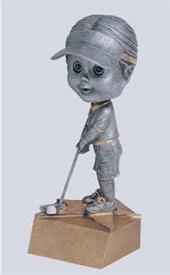 BH-6 - Female Golf Bobblehead Figure