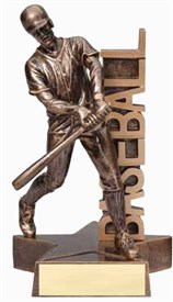 RST- Baseball Resin Figure