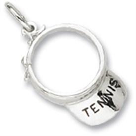 CHTV - Sterling Silver Tennis Visor Charm