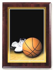 PBM 7 x 9 Basketball Plaque