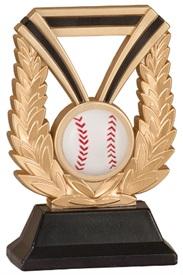 7 inch DUR Baseball Resin Trophy