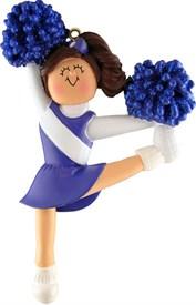 OR-6 Cheerleading Ornament Blue