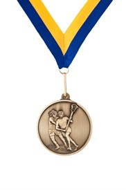 MDL-5 Female Lacrosse Medal ***AS LOW AS $3.20 each***