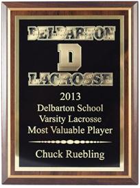 CLL 7X9 Lacrosse Plaque