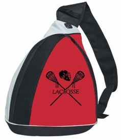 Custom Lacrosse Sling Bag - 1 color logo