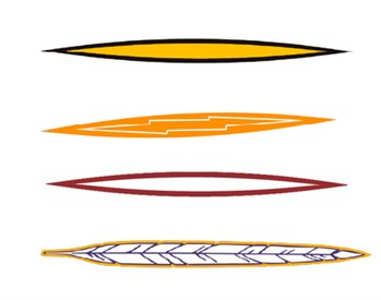 Stock Helmet Stripe 3 color/Hi-Definition