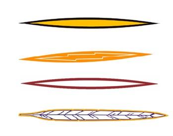 Stock Helmet Stripe 1 Color