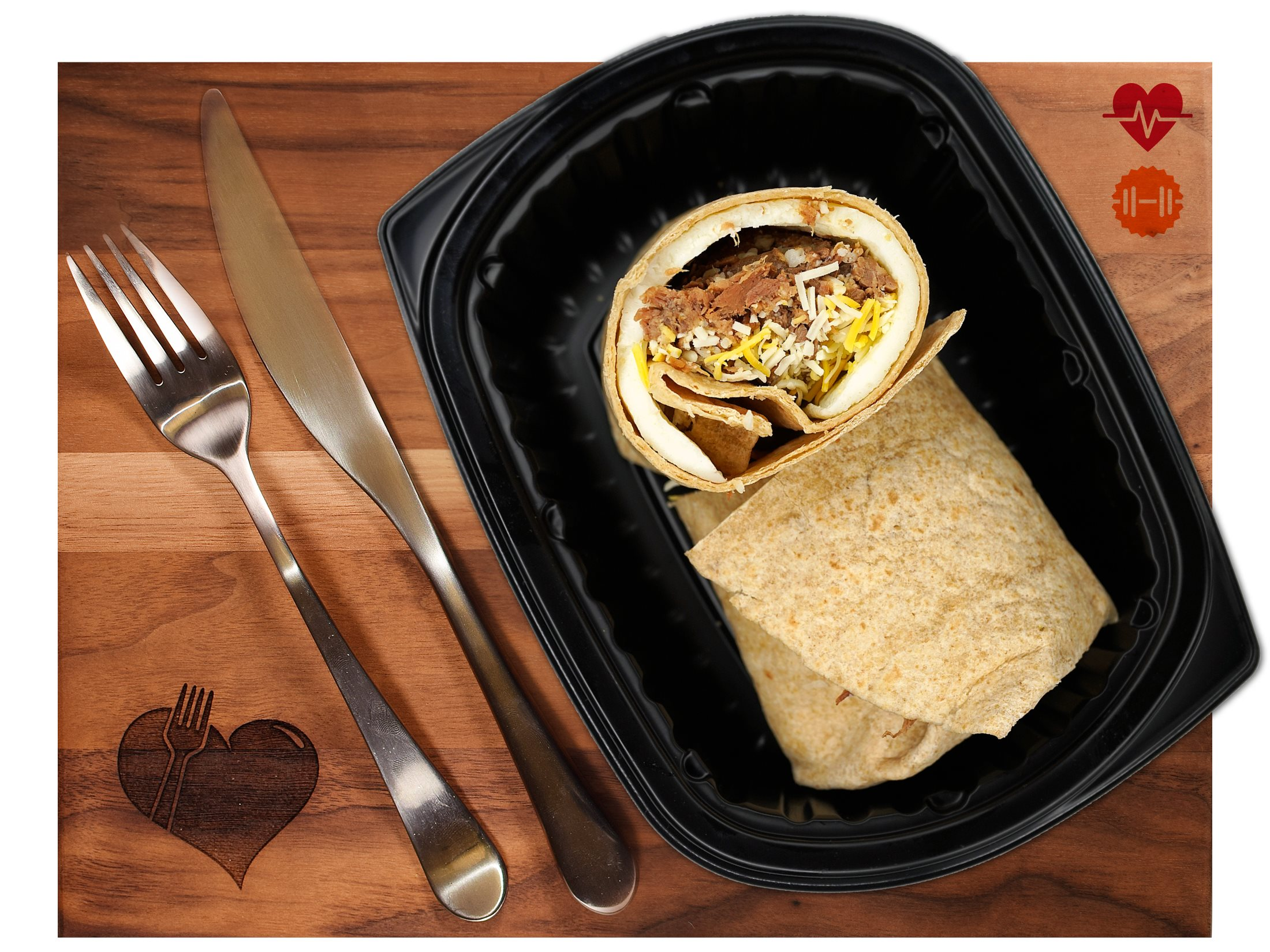 Steak & Egg Wrap