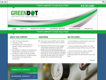 Green Dot Heat & Air Wilmington NC