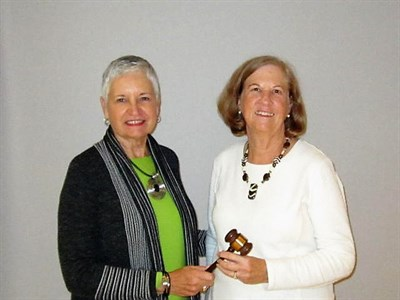 June Somers and Jan Alpert - 2018 LWGA President