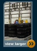 automotive automatic trailer loading platform