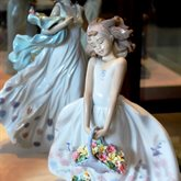 Lladro Wildflowers available at Albert F. Rhodes Jewelers