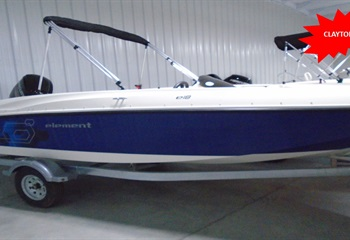 2019 Bayliner Element E18 Stock No. X2649 liquid-unknown-field [type] Boat