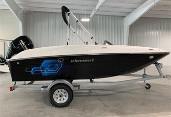 2021 Bayliner Element E16 Black  Boat