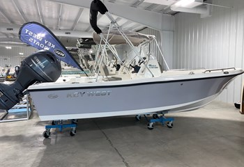 2021 Key West 176 CC Manta Gray Boat
