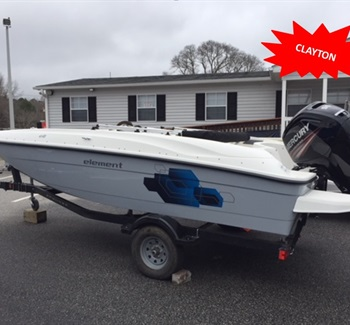 2019 Bayliner Element E18 Grey New Boat