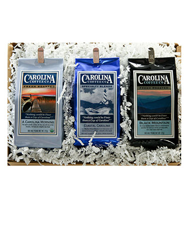 Carolina Coffee Coffee Trio Gift Box