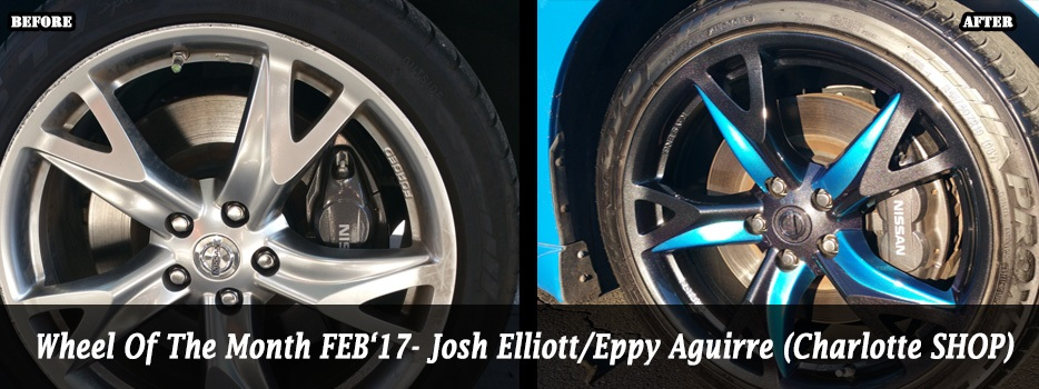 Wheel of the Month Feb `17 - Josh Elliott/Eppy Aguirre (Charlotte)