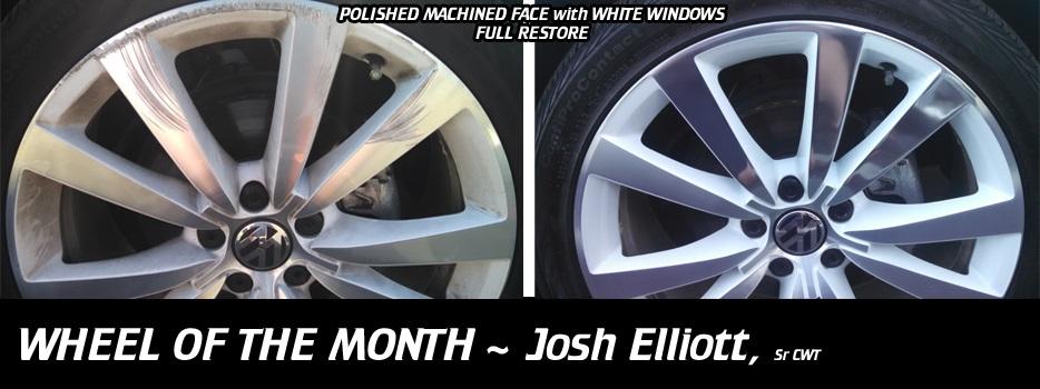 Wheel of the Month, Josh Elliot