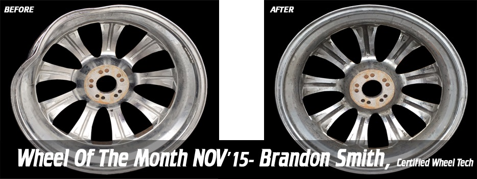 Wheel of the Month, Nov '15, Brandon Smith, Certified Wheel Tech