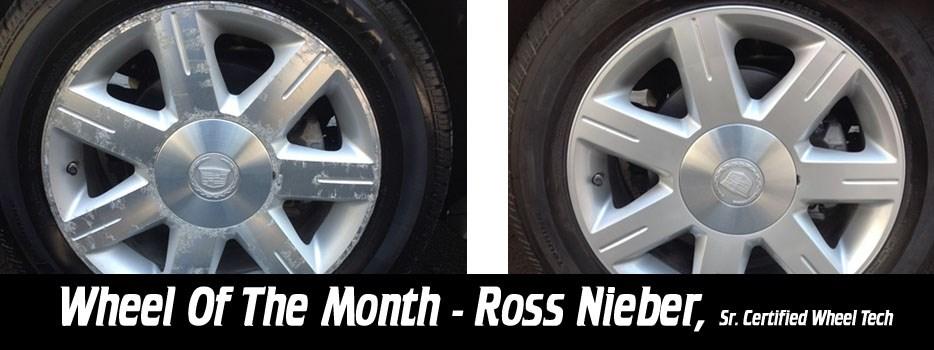 Wheel of the Month Ross Nieber, Sr. Certified Wheel Tech